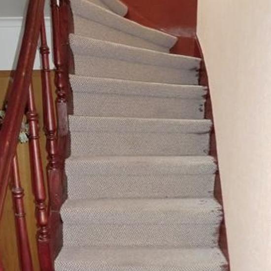 Reverenz Teppich Treppe - Parkett Scherb aus Essen